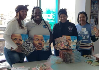 Women in Correction in conjunction with other Fraternal organizations did volunteer work for Martin Luther King Birthday